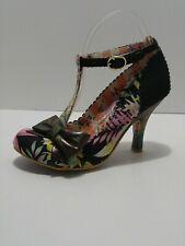 Irregular Choice Iconic Multi Color T Strap Pumps Heels Size 6 US  37 EU NEW