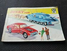 1968 VINTAGE DINKY TOY CATALOGUE No. 4 (72580) (inc. 1st printing price list)