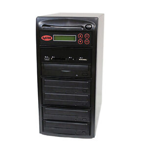 SySTOR 1-4 USB/SD/CF/MS/MMC MultiMedia Backup Copier to CD DVD Duplicator