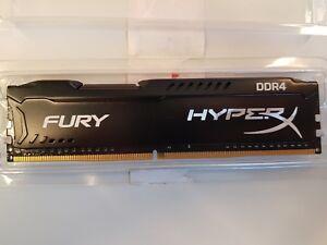 Kingston HyperX FURY 4GB 2400MHz PC4-19200 DDR4 CL15 DIMM DDR4 HX424C15FB/4