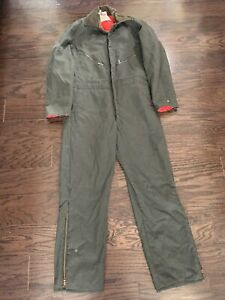 Vintage Walls Blizzard Pruf Insulated Farm Mechanic One Piece Work Suit Mens L