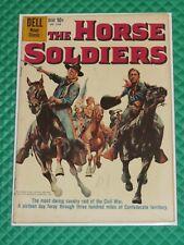 The Horse Soldiers #1048 Dell Four-Color Comics Higher Grade John Wayne (1959)