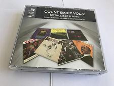 COUNT BASIE Classic VOL. 2 Box set V RARE SET MINT 4 CD + 7 ALBUMS 5036408164025