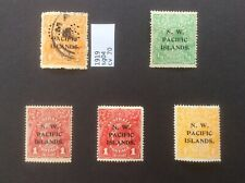 Australia New Guinea.  North West Pacific Islands  Early Used And Mint Stamps
