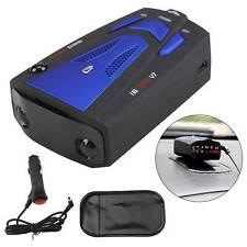 Car Speed Radar 360° 16 Band V7 GPS  Detector Police Safe Voice Alert Laser