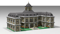 Custom Instruction LEGO castle/palace; Schloss/Palast (only instruction)