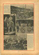 Statue du Maréchal Foch de Michelet à Tarbes / Lottery Germany 1934 ILLUSTRATION