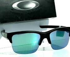 NEW* Oakley THINLINK Black w Jade Iridum Green Lens Sunglass oo9316