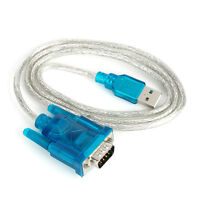HL-340 USB to RS232 COM Port Serial PDA 9 pin DB9 Cable Adapter support Win7- XJ