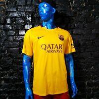 Barcelona Barca Jersey Away shirt 2015 - 2016 Nike 658785-740 Trikot Mens SZ XL
