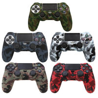 Silicone Rubber Soft Skin Gel Cover Case for Playstation 4 PS4 Controller Skin