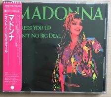 MADONNA Original 1984 Issue DRESS YOU UP / AIN'T NO BIG DEAL Japanese CD