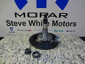 98-11 Chrysler Dodge Ring And Pinion Gear Kit 3.55 Axle Ratio Mopar Factory Oem