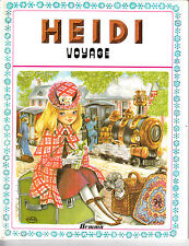 HEIDI VOYAGE . EDITION ORIGINALE . 1977 .   EDITIONS HEMMA .