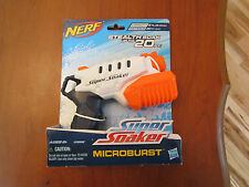 Nerf Water Gun Super Soaker MICROBURST Stealth Soak up to 20 ft Pump to Fire Toy