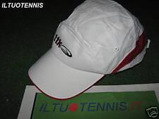 Cappellino TTK  COOL bianco/rosso