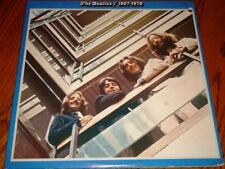 THE BEATLES 1967-1970 2-RECORD SET LMTD BLUE VINYL LPS