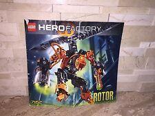 LEGO HERO FACTORY SET 7162 ROTOR MANUAL ONLY NO BRICKS