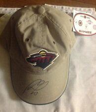 Marion Gaborik Adjustable Zephyr Autographed Minnesota Wild Cap LA Kings NHL