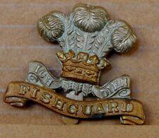 WW1 Pembrokeshire Yeomanry Cap Badge gaunt Birmingham 1970's restrike