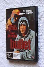 Bullet (DVD), STARRING MICKEY ROURKE, REGION-4, LIKE NEW, FREE POST IN AUSTRALIA
