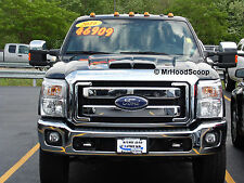 Hood Scoop for Ford F250 F350 Super Duty by MrHoodScoop PAINTED HS002