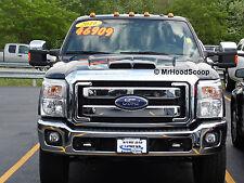 Hood Scoop for Ford F250 F350 Super Duty by MrHoodScoop Unpainted HS002