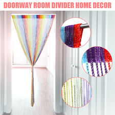 Door Curtain String Beads Panel Divider Screens Hanging Wall Partition