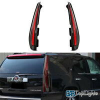 VLAND Tail Lights For Cadillac Escalade / ESV 2007-2014 Full LED W/ Clear Lamp