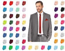 Krawatte schmal dünn Tie Schlips Binder Busniess Kravatte 5 cm Herren Hochzeit