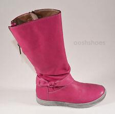 Noel Judith Girls Pink Leather Zip Boots UK 9 EU 27 US 9.5 RRP £68.00