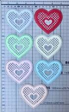 Love in Heart Doily Cut Out 1 pack of 6pcs.
