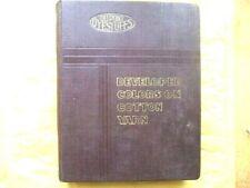 DUPONT DYESTUFFS, Du Pont de Nemours: Catalogue, Nuancier Fil de Coton 1920/1930