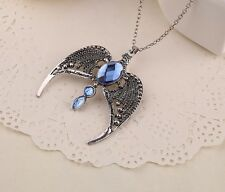 Harry Potter Deathly Hallows Ravenclaw Lost Diadem Tiara Crown necklace