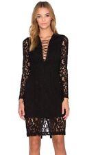 Bardot Jenner Lace Up Dress 14 Brand New W/tags  * FREE POST *