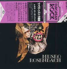 Museo Rosenbach - Zarathustra JAPAN LP with OBI and LINER NOTES