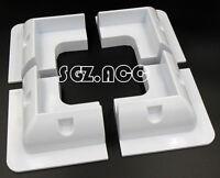 Solar Panel Mounting Bracket White Corner For Caravans Boats Motor Homes 80W PV