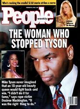 People Magazine February 24, 1992 Mike Tyson Rebecca De Mornay Dorothy Hamil NML