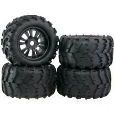 4x RC Car Off Road 1:8 Scale Monster Truck Bigfoot Tyre Tires 17mm HEX Wheel Rim