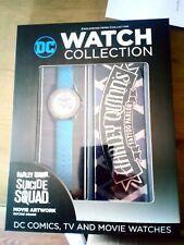 BNIB DC Watch Collection - Harley Quinn Watch, Collector Case & Magazine RRP £25