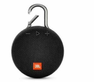 JBL Clip 3 Portable Waterproof Portable Bluetooth Speaker - Black