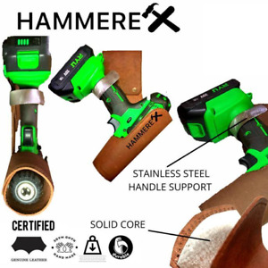 Hammerex drill belt holder fits all drills dewalt makita milwaukee bosch