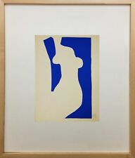 Nu Bleu V by Henri Matisse (Abstract/FineArt) Framed