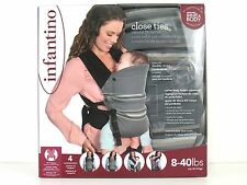 Infantino - Close Ties - Natural Fit Baby Carrier - 8-40 lbs - Brand New