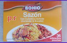 1 BOX SAZON BOHIO SEASONING CULANTRO Y ACHIOTE JUMBO