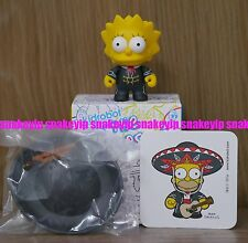 Kidrobot The Simpsons series 2 Mariachi lisa Please note comes Wrong Sticker