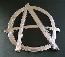 ANARCHY A POWER PUNK BAND METAL MUSIC BELT BUCKLES  BOUCLE DE CEINTURE