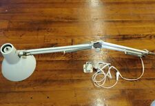 Vintage Industrial Maxam Denmark Lamp Architect Drafting Desk Light White