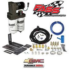 FASS Titanium Fuel Pump System 165GPH 2001-2010 Chevy GMC Duramax 6.6L Diesel
