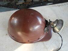 Vintage 1959 Msa Skullgard Fiberglass Protective Hard Hat Cap No Liner